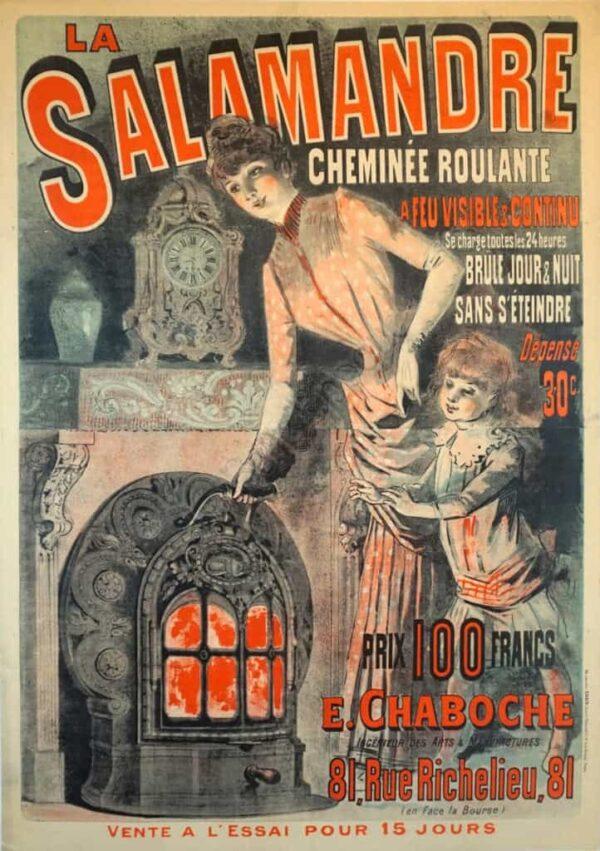 La Salamandre Vintage Posters