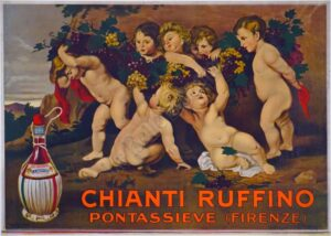 Chianti Ruffino Pantassieve Vintage Posters