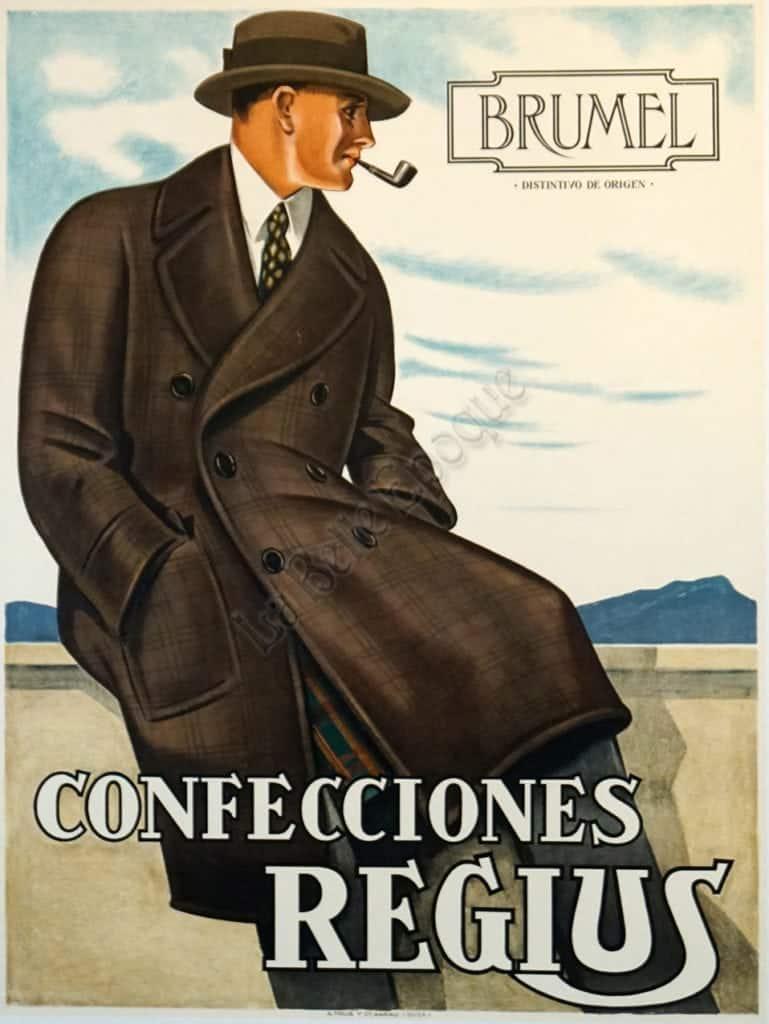 Brumel Confecciones Regius Vintage Posters