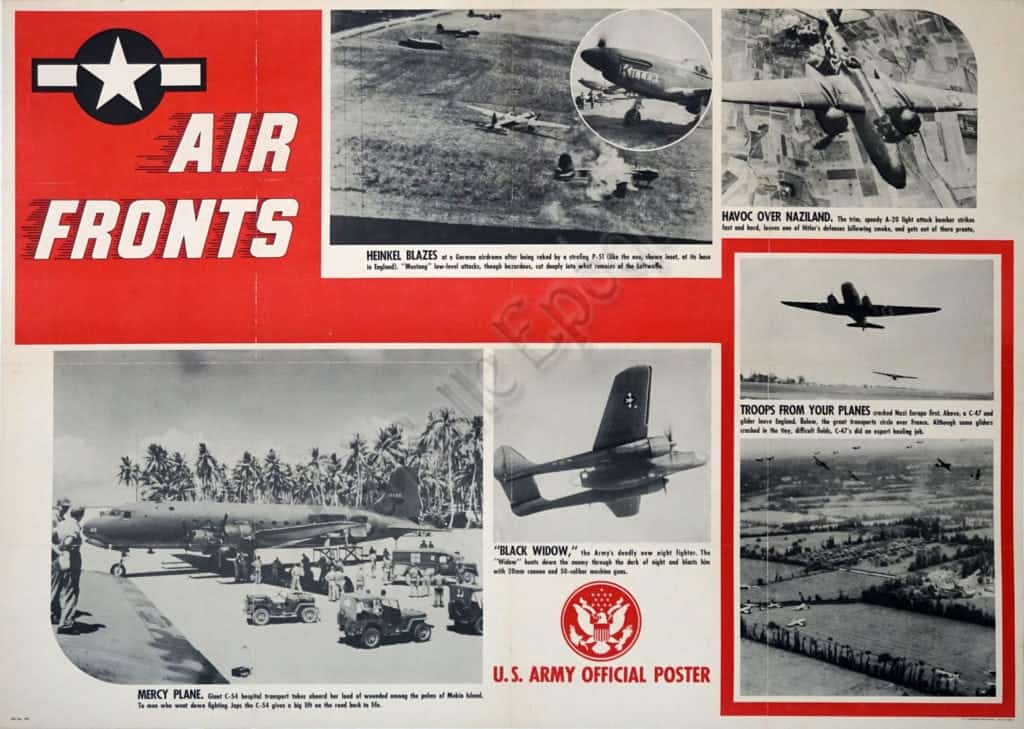 Air Fronts Vintage Posters