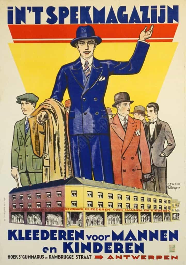 In'T Spekmagazijn Vintage Posters