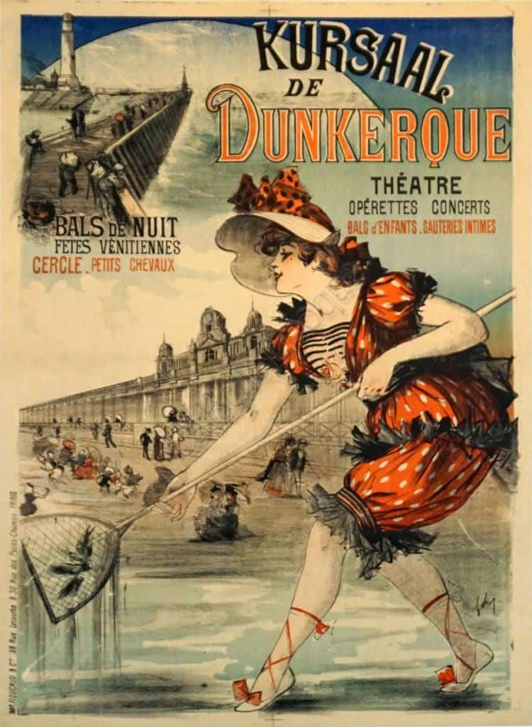 Kursaal de Dunkerque Vintage Posters