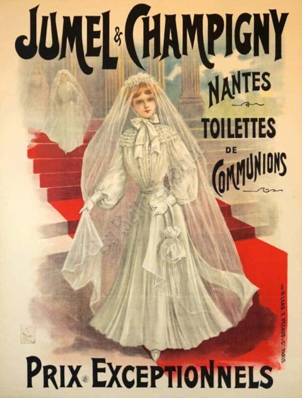 Jumel & Champigny Vintage Posters
