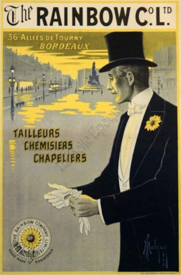 The Rainbow Co. Ltd. Vintage Posters