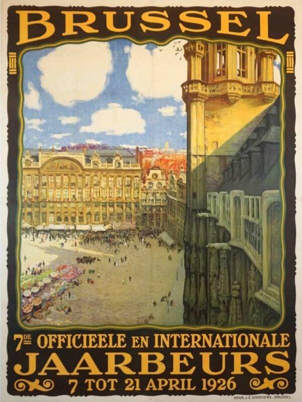Brussel Vintage Posters