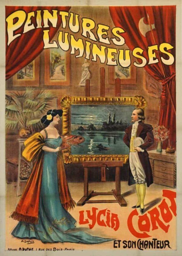 Peintures Lumineuses Vintage Posters