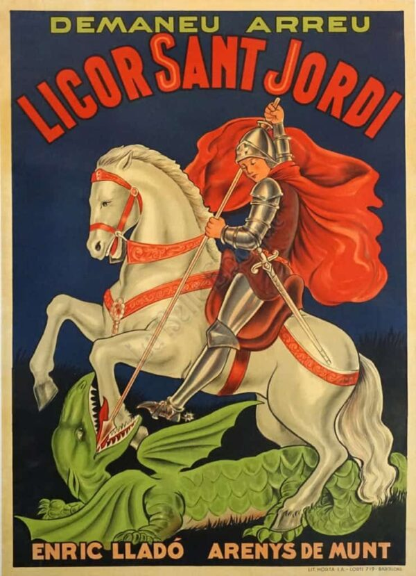 Licor Sant Jordi Vintage Posters