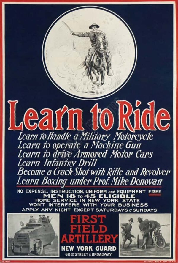Learn to Ride Vintage Posters