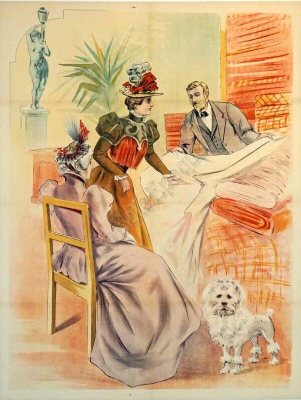 blanc Fashion Vintage Posters