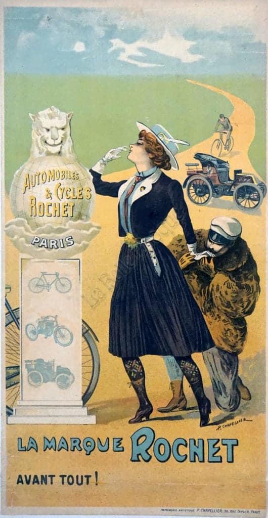 La Marque Rochet Vintage Posters