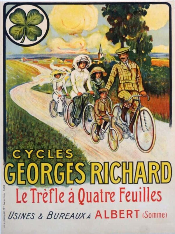 Cycles Georges Richard Vintage Posters
