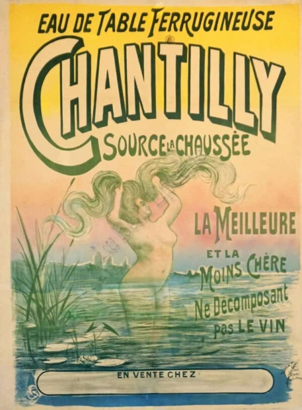 Chantilly Vintage Posters
