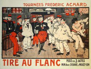 Tire Au Flanc Vintage Posters