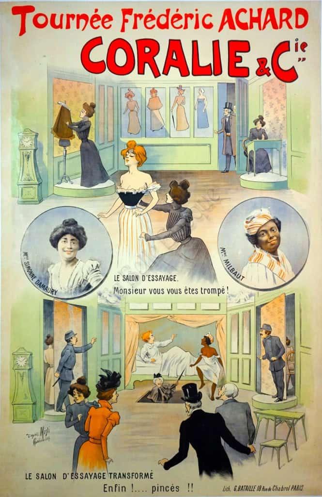 Coralie & Cie. Vintage Posters