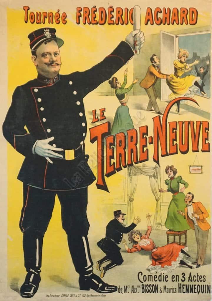Le Terre-Neuve Vintage Posters