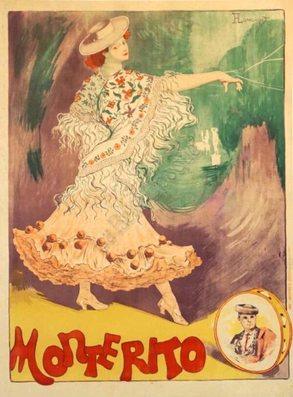 Monterito Vintage Posters