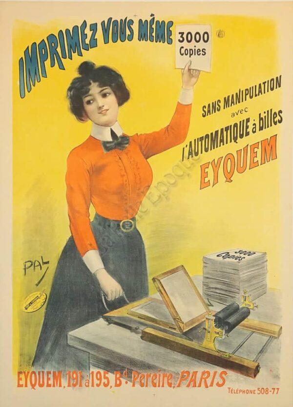 Imprimez Vous Meme Vintage Posters
