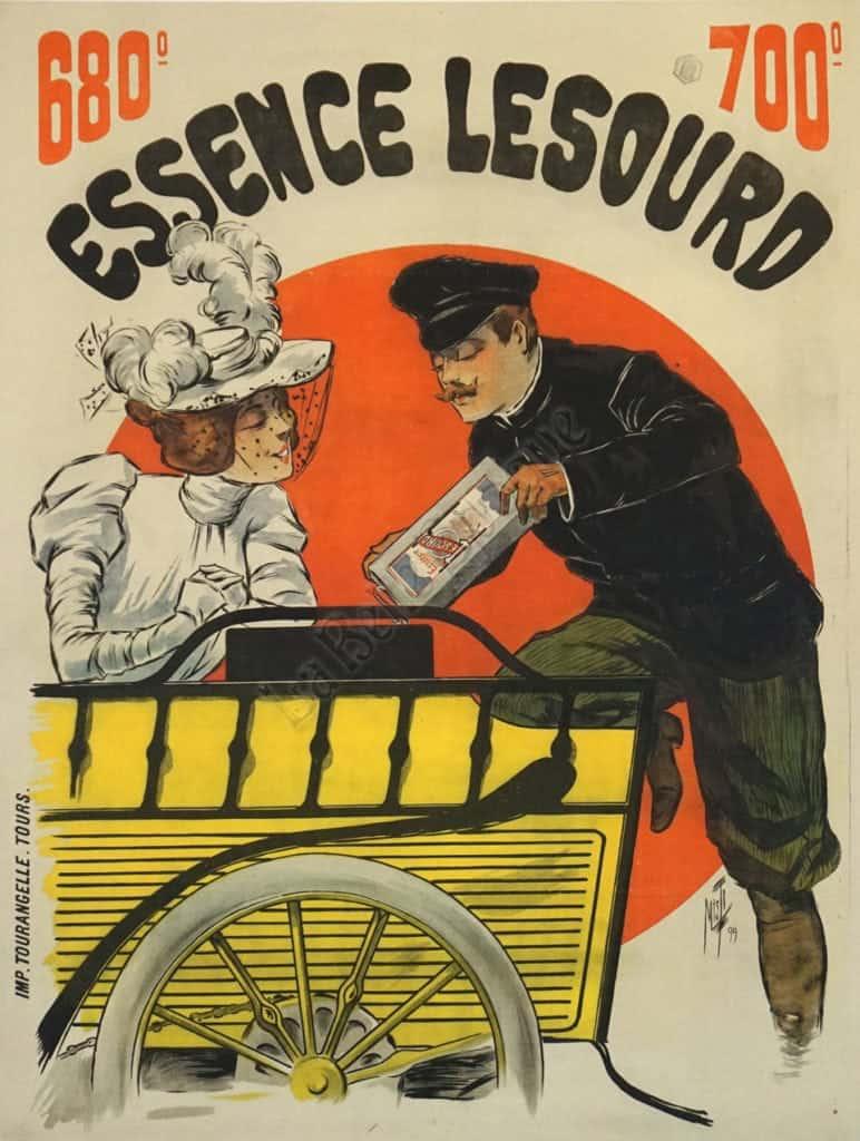 Essence Lesourd Vintage Posters