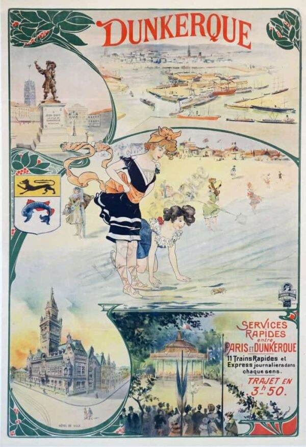 Dunkerque Vintage Posters