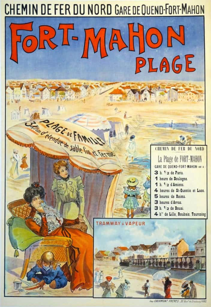 Fort Mahon Plage Vintage Posters