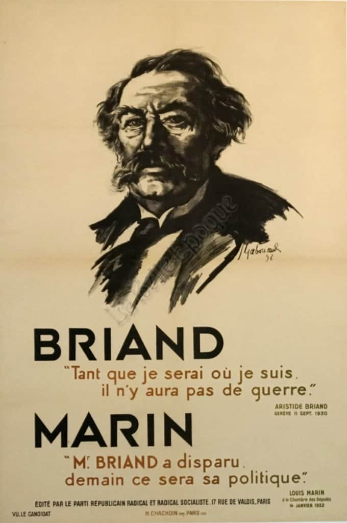 Briand Marin Vintage Posters