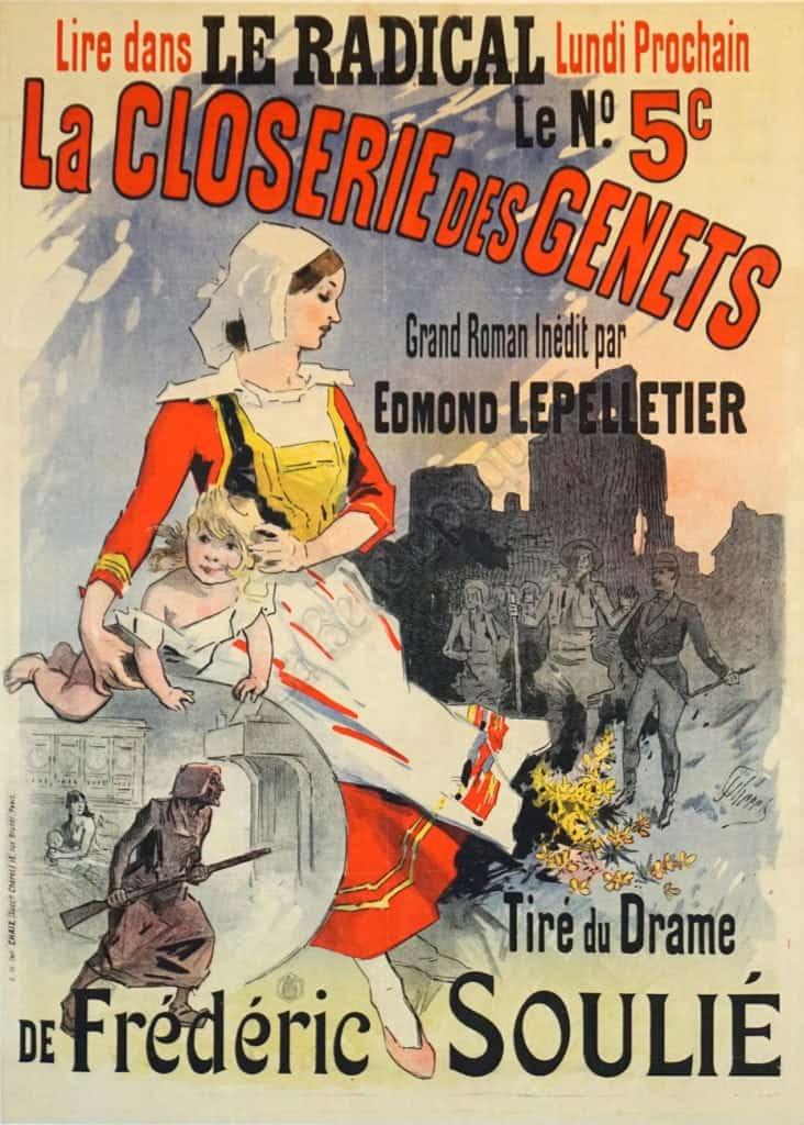 La Closerie des Genets Vintage Posters