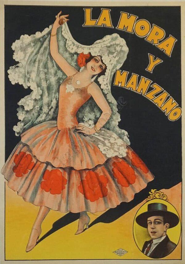 La Mora Y Manzano Vintage Posters