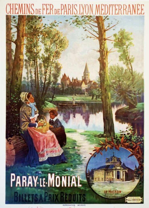 Chemins de Fer de P.L.M. Vintage Posters