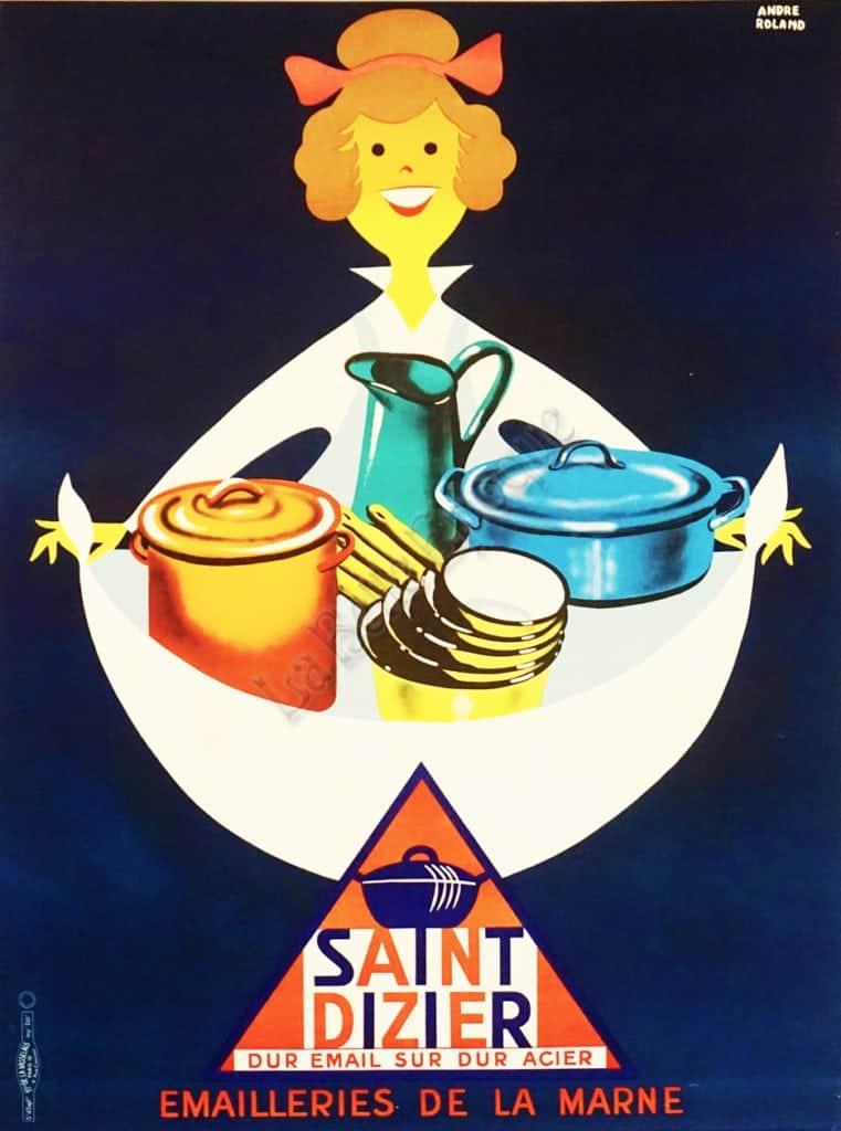 Saint Dizier Vintage Posters