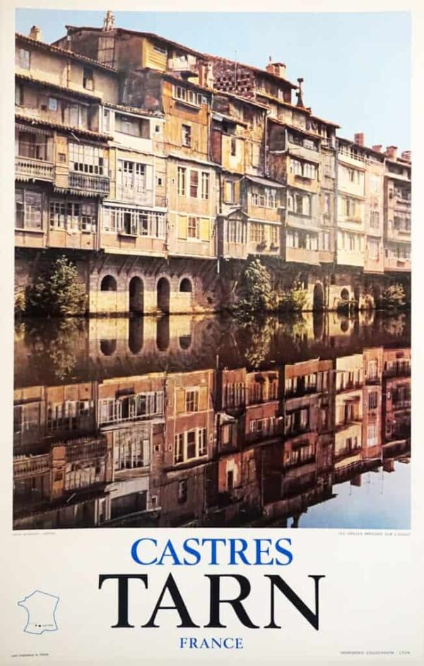 Castres Tarn France Vintage Posters