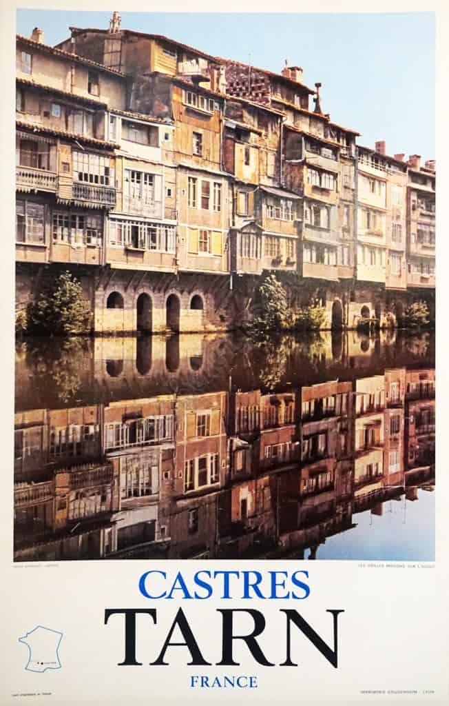 Castres Tarn France Vintage Posters