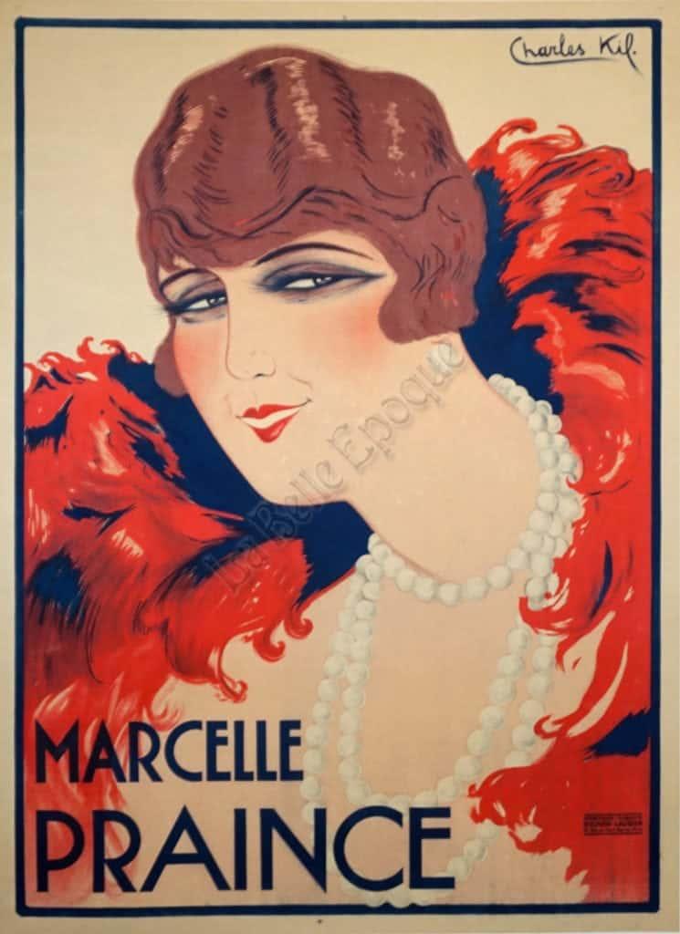 Marcelle Praince Vintage Posters