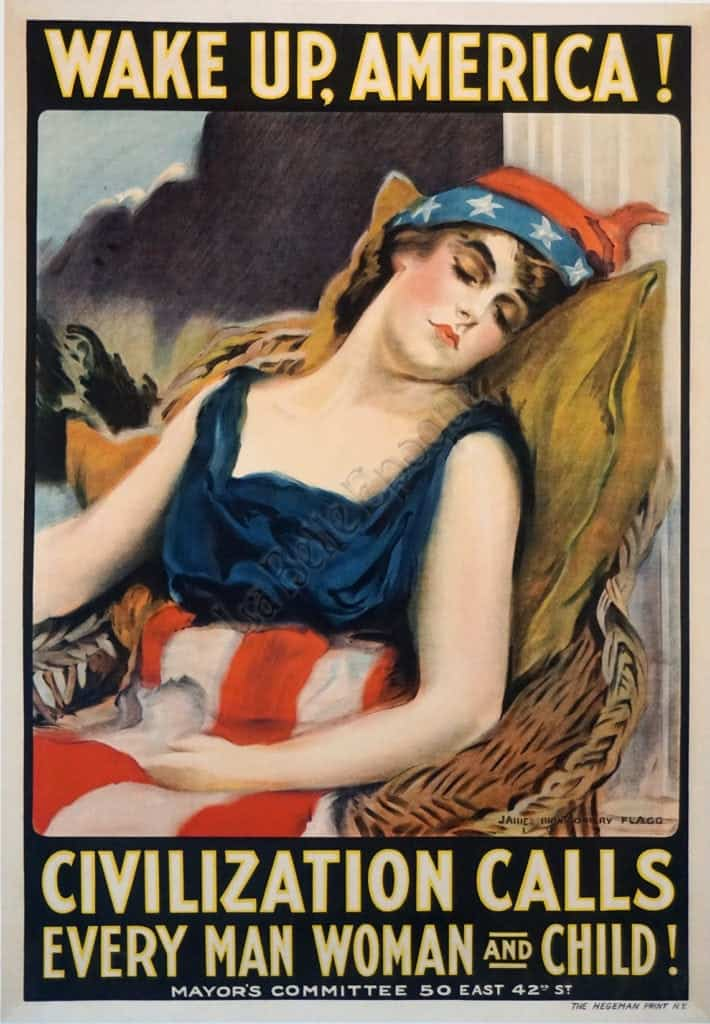 Civilization Calls Every Man Woman and Child! Vintage Posters