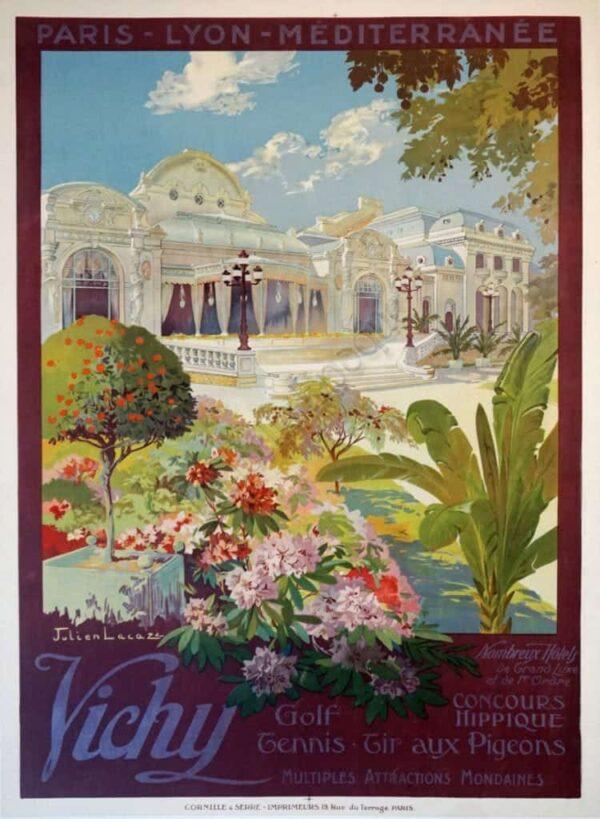 Vichy PLM Vintage posters