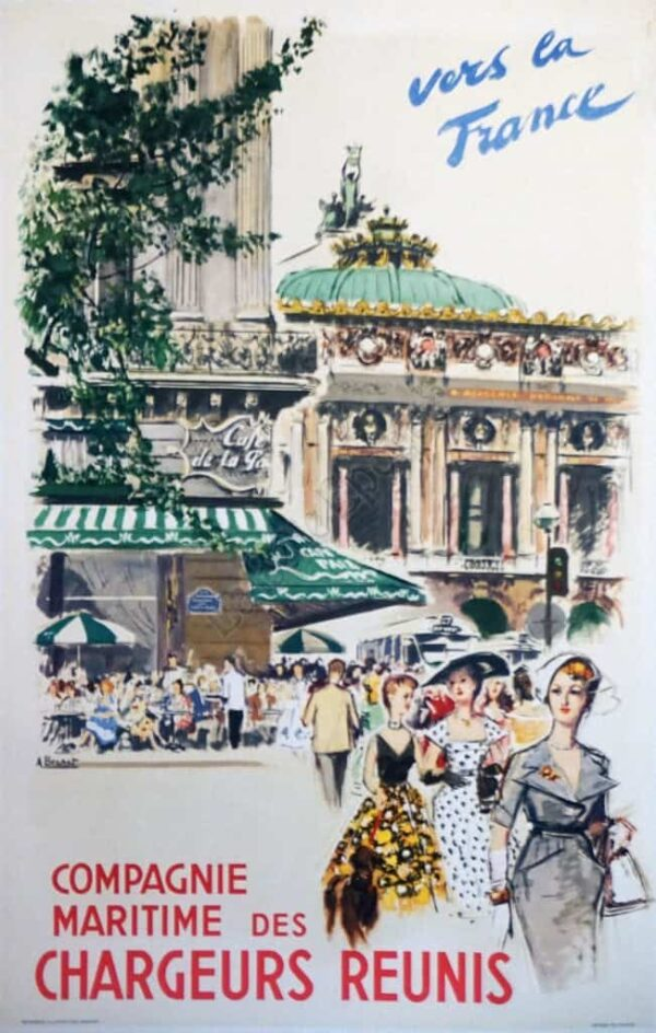 vers la France Vintage Posters