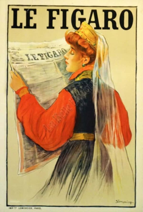 Le Figaro Vintage Posters