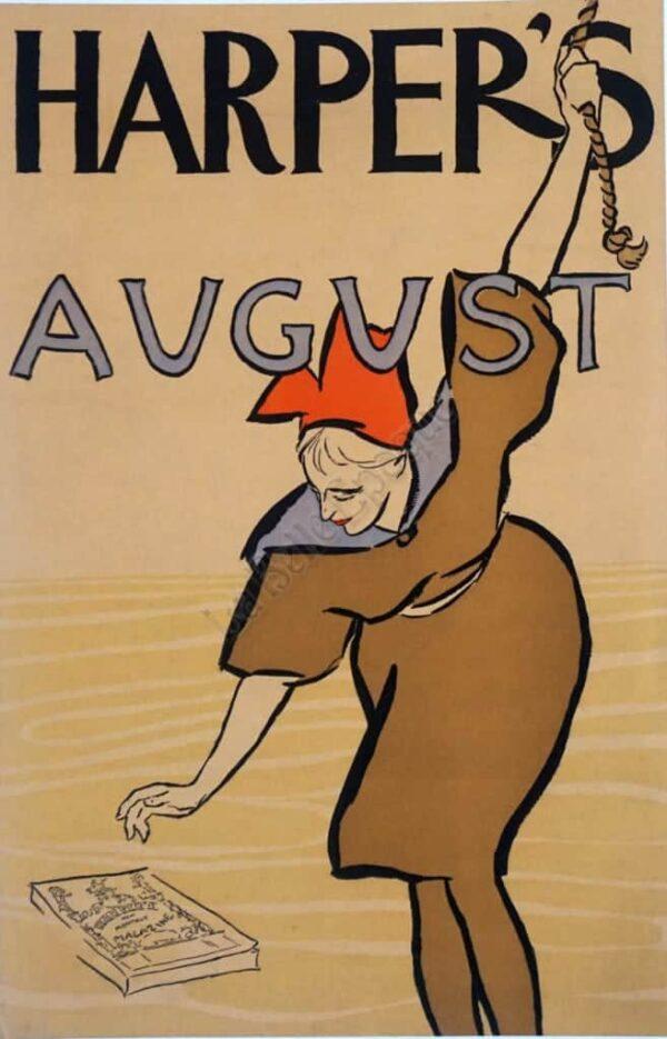 Harper's August Vintage Posters