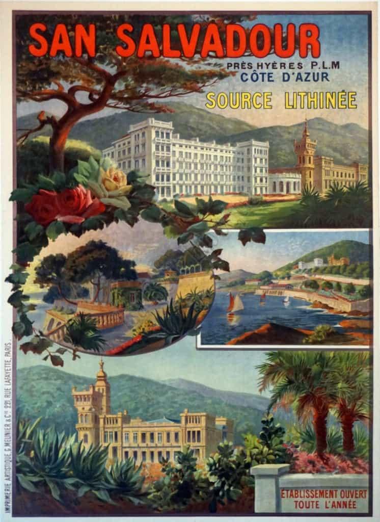 San Salvadour Vintage Posters