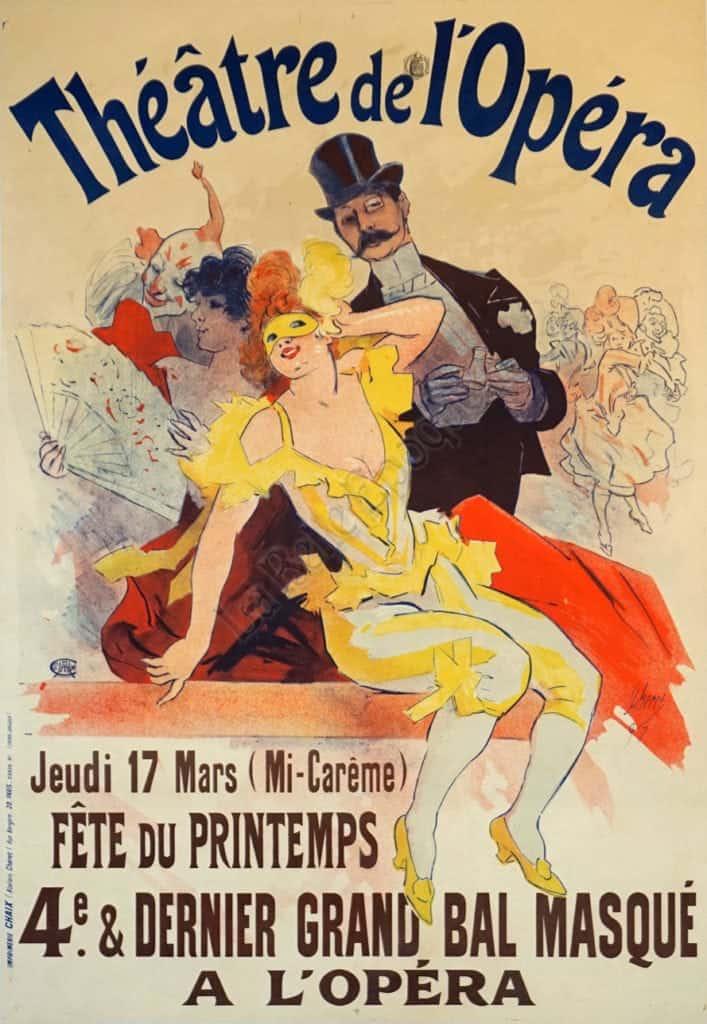 Theatre de l'Opera Vintage Posters