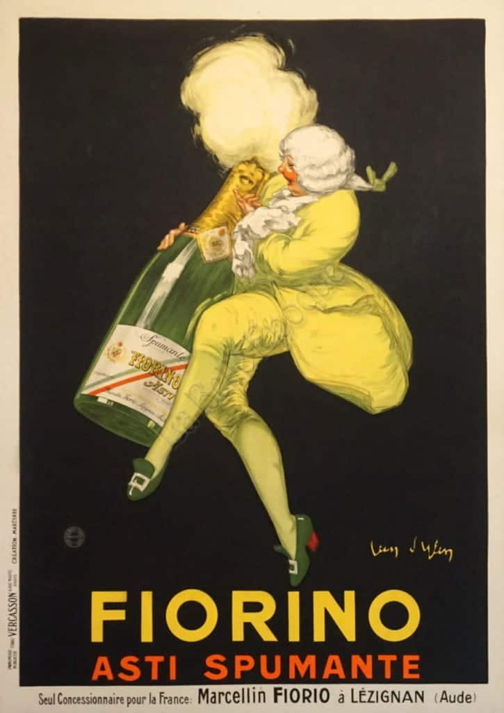 Fiorino Asti Spumante Vintage Posters