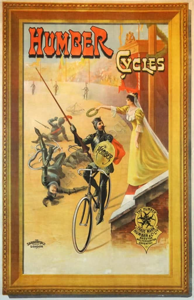 Humber Cycles Vintage Posters