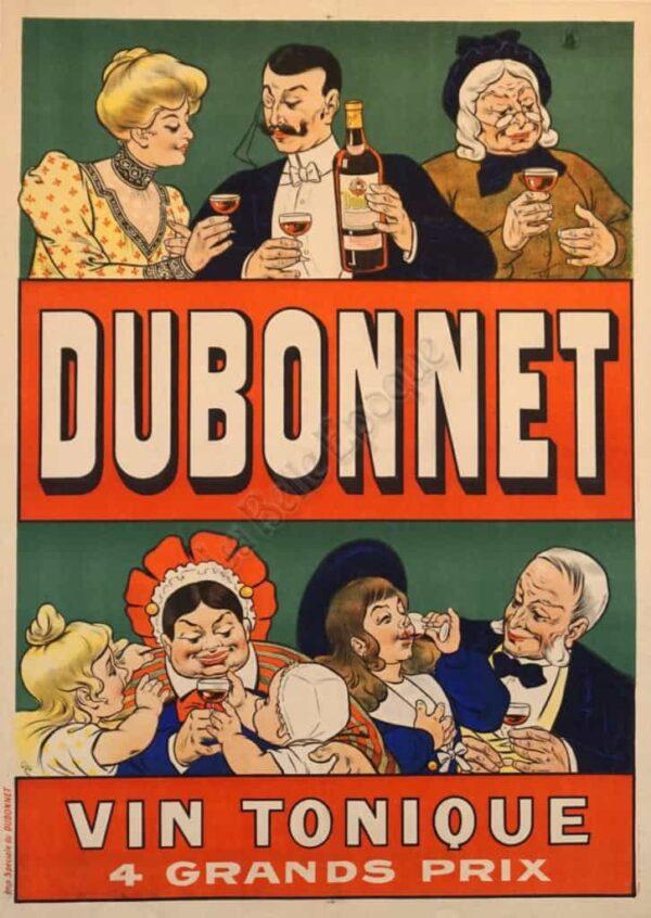 Dubonnet Vin Tonique Vintage Posters