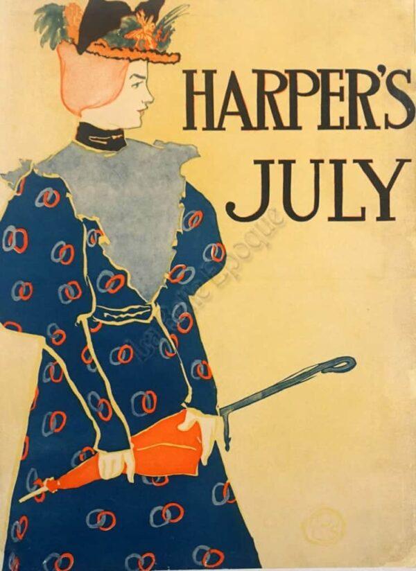 Harper's July Vintage Posters