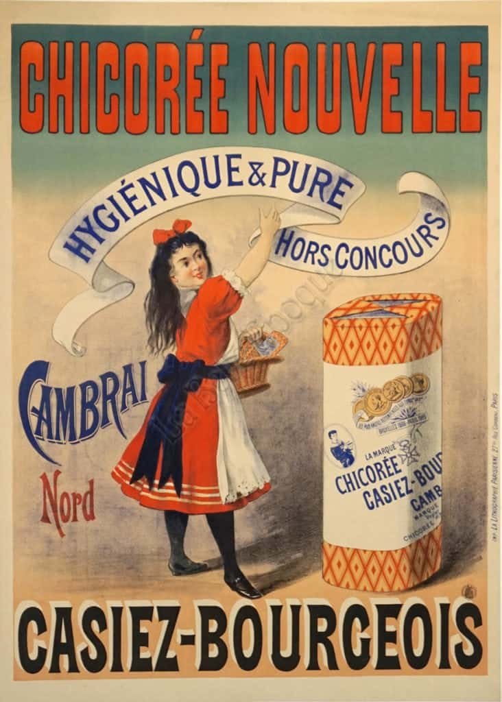 Chicoree Nouvelle Vintage Poster