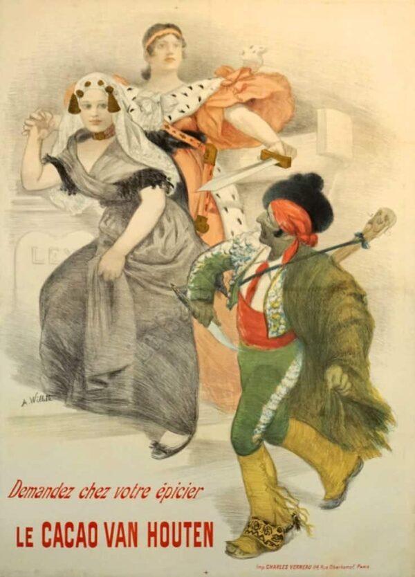 Le Cacao Van Houten Vintage Posters