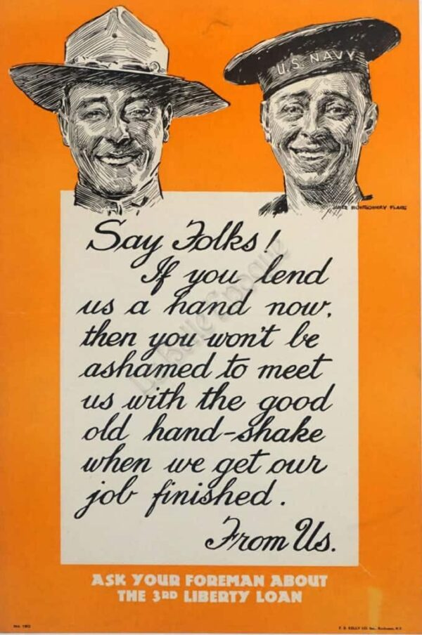 Say Folks Vintage Posters