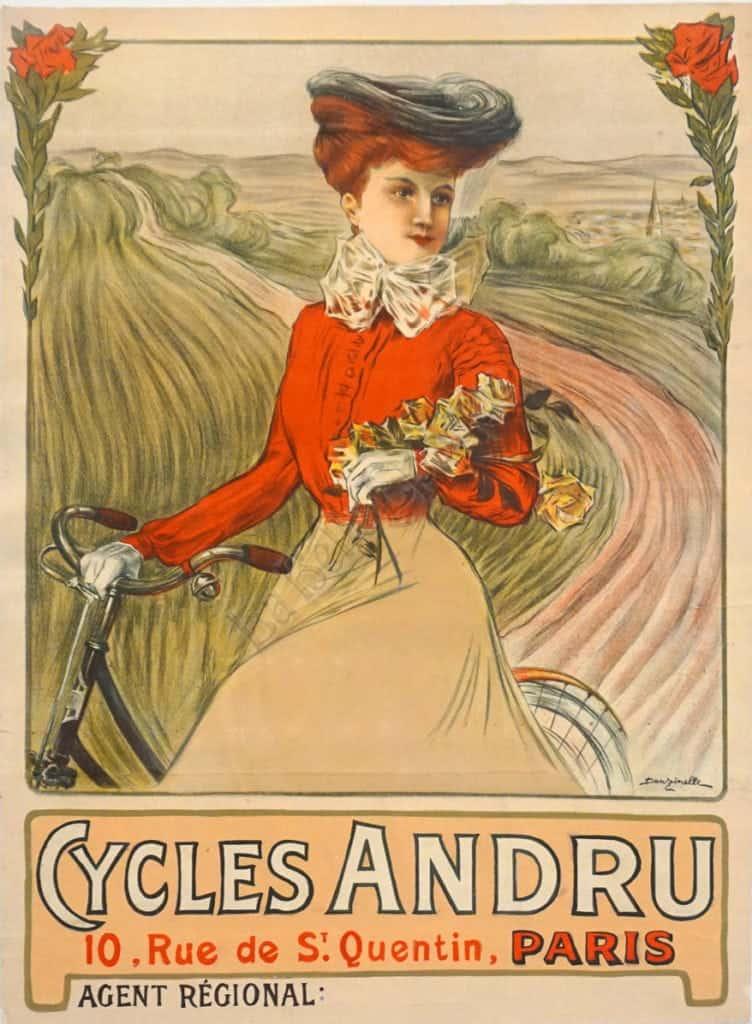 Cycles Andru Vintage Posters
