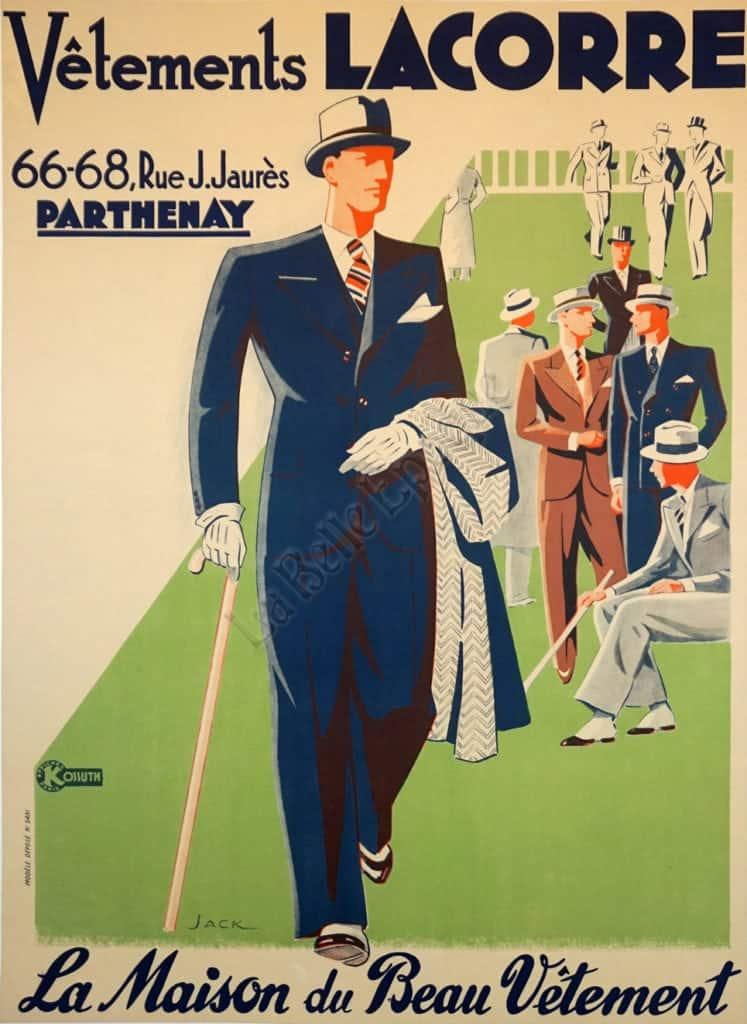 Vetements Lacorre Vintage Posters