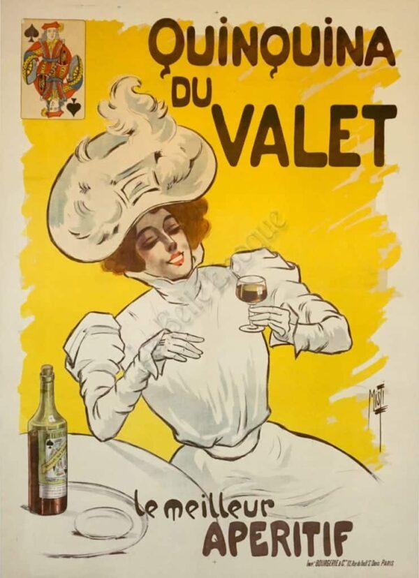 Quinquina du Valet Vintage Posters