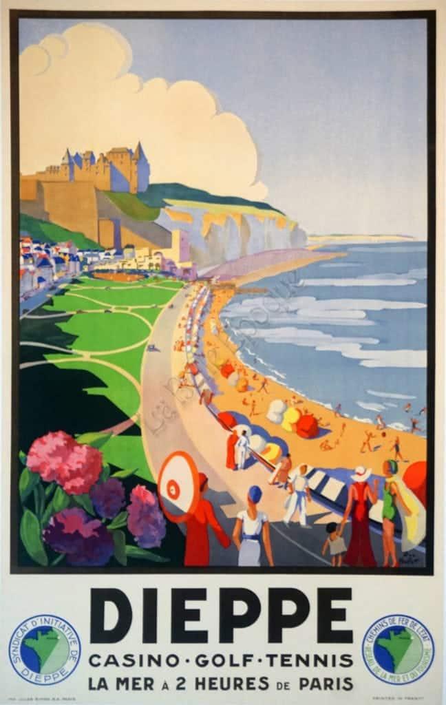 Dieppe Vintage Posters